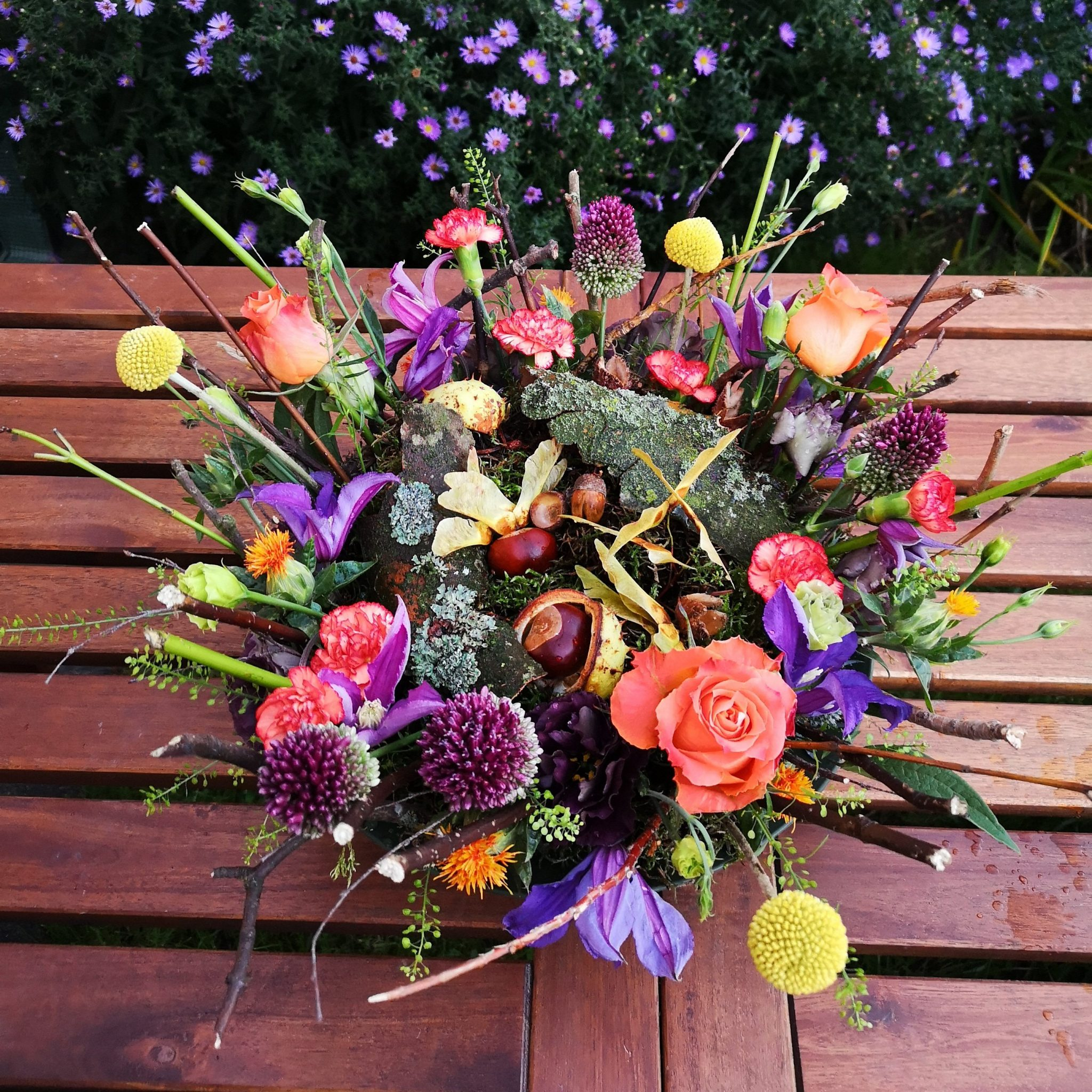 Autumn Table Centrepiece